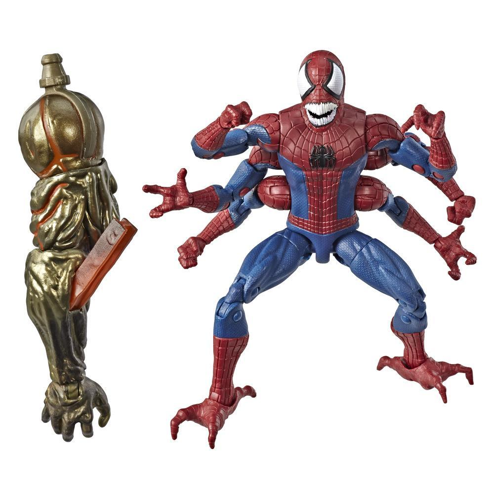 Marvel Legends - Doppelganger (Action Figure da collezione 15cm, ispirata a Spider-Man: Far From Home - Build-A-Figure Molten Man)