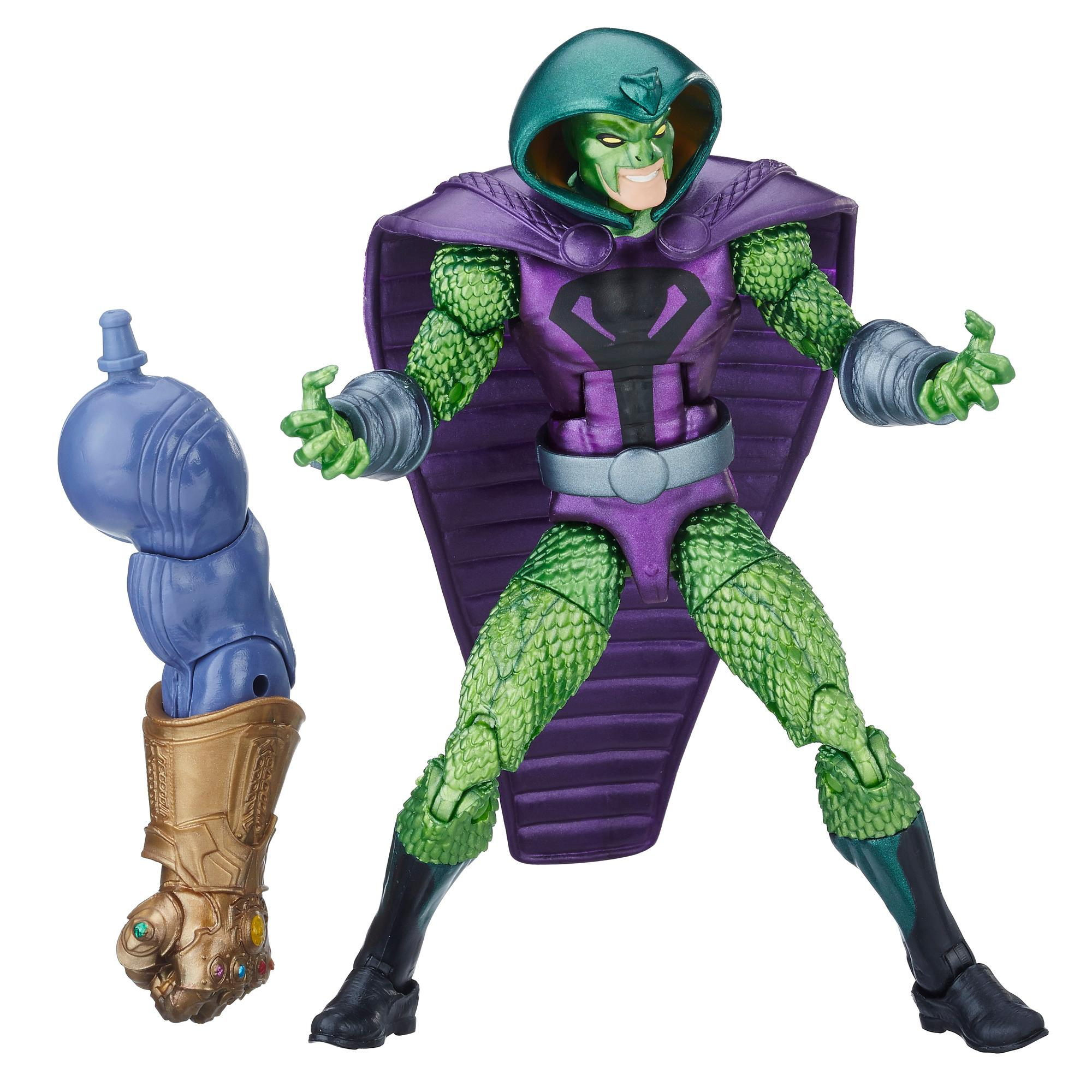 Marvel Legends - Serpent Society (Build-A-Figure Thanos Action Figure Collezione, 15 cm)