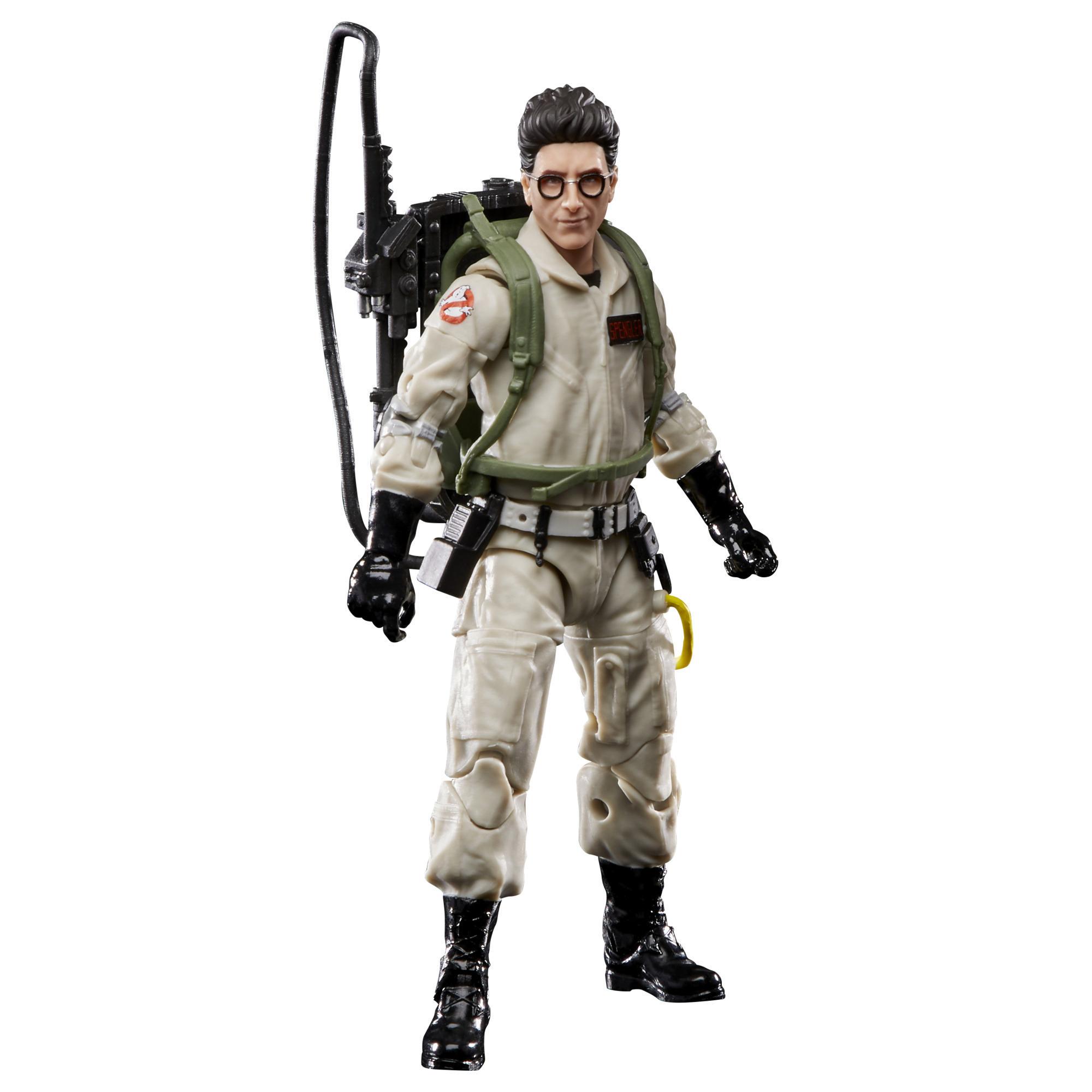 Ghostbusters Plasma Series - Egon Spengler (Action figure 15 cm da collezione, Build-A-Ghost Terror Dog, ispirata al film Ghostbusters del 1984)