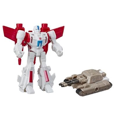 Transformers Cyberverse - Jetfire (con Spark Armor) - Si combina con il veicolo Tank Cannon per potenziarsi - Adatto a bambini dai 6 anni in su, 10 cm Product