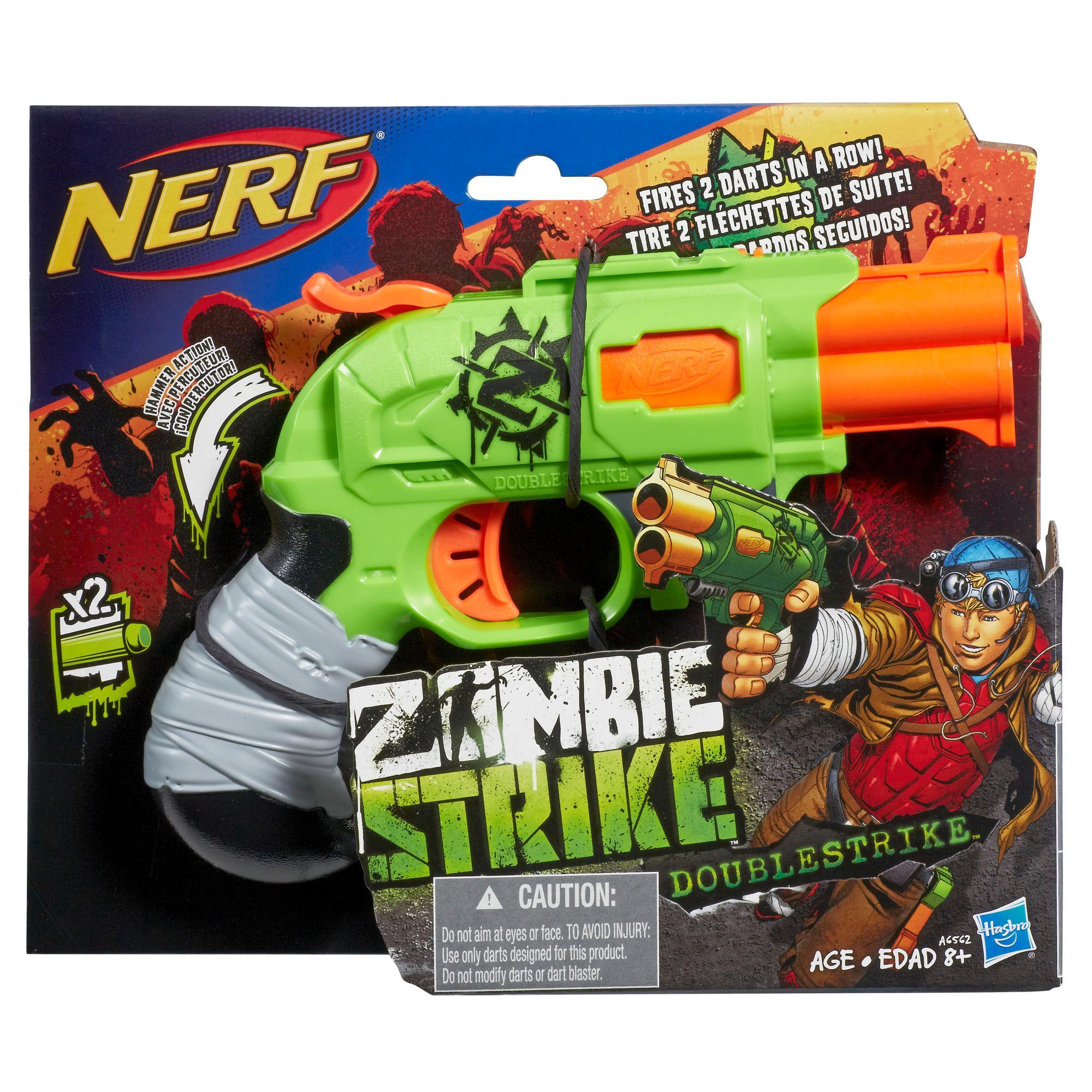 Nerf Zombie Strike - DoubleStrike (blaster con dardi)