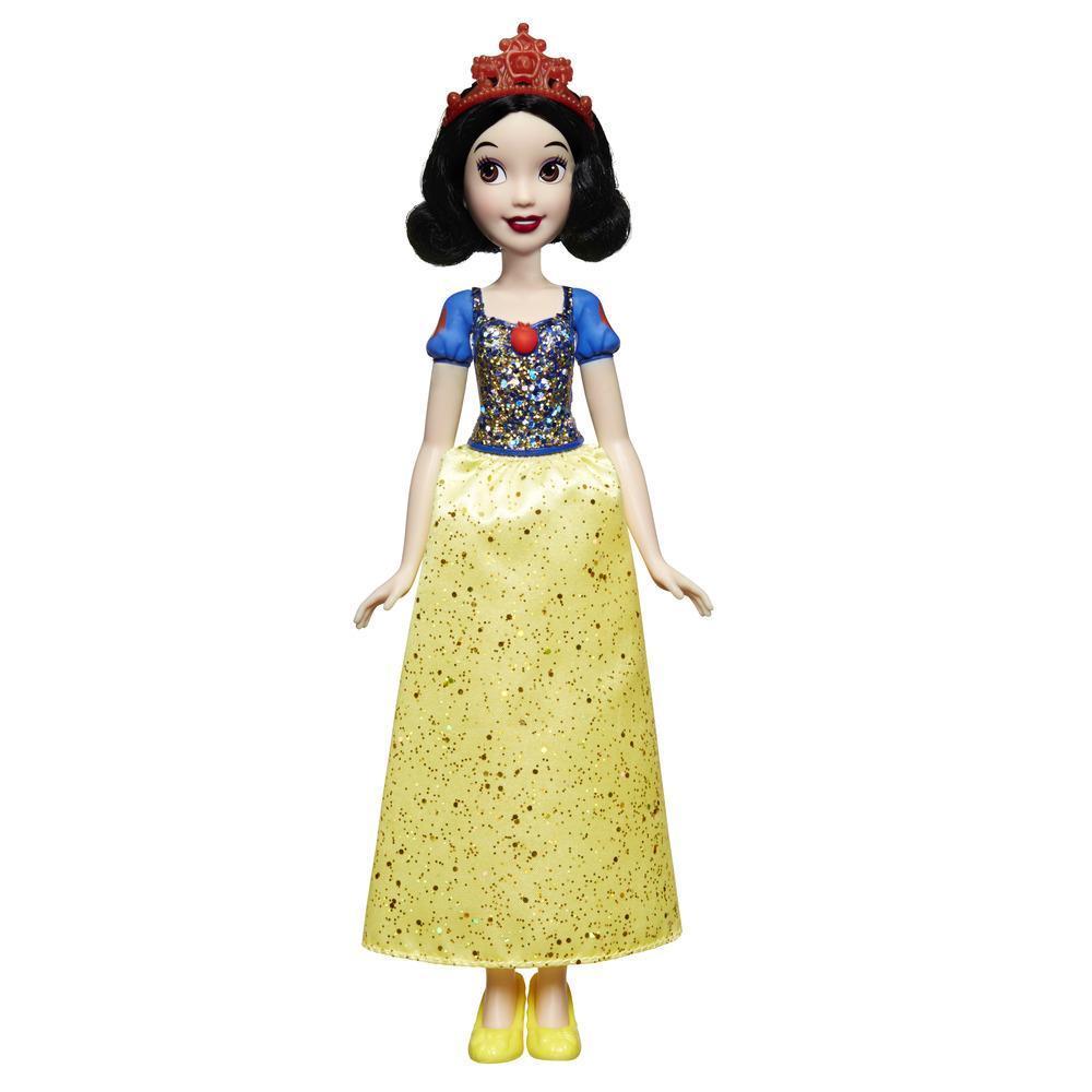 Disney Princess - Biancaneve (Fashion Doll) con gonna scintillante, diadema e scarpe