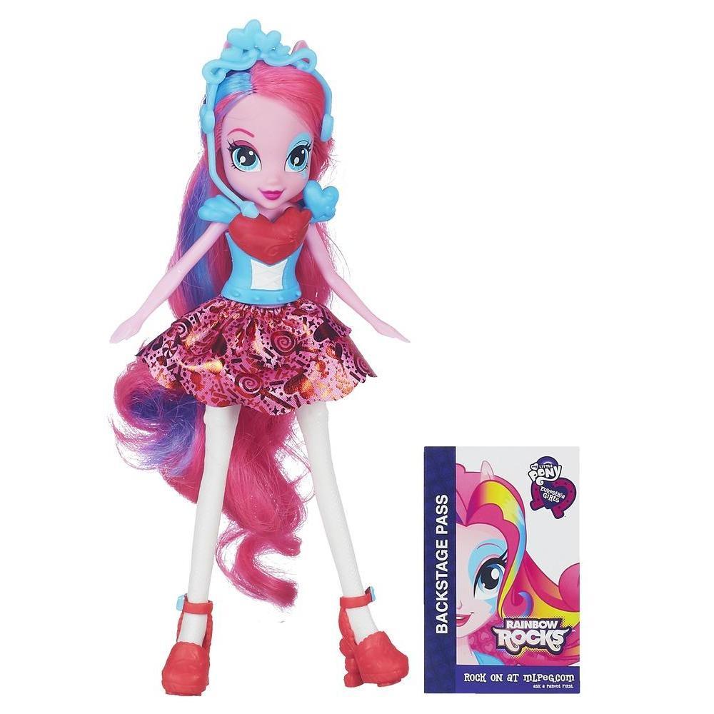 Equestria Girls Pinkie Pie Bambola Base