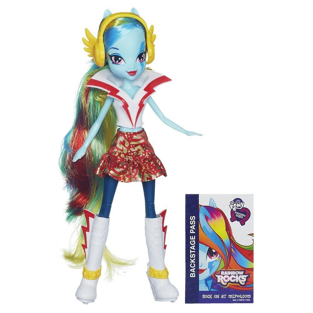 Equestria Girls Rainbow Dash Bambola Base