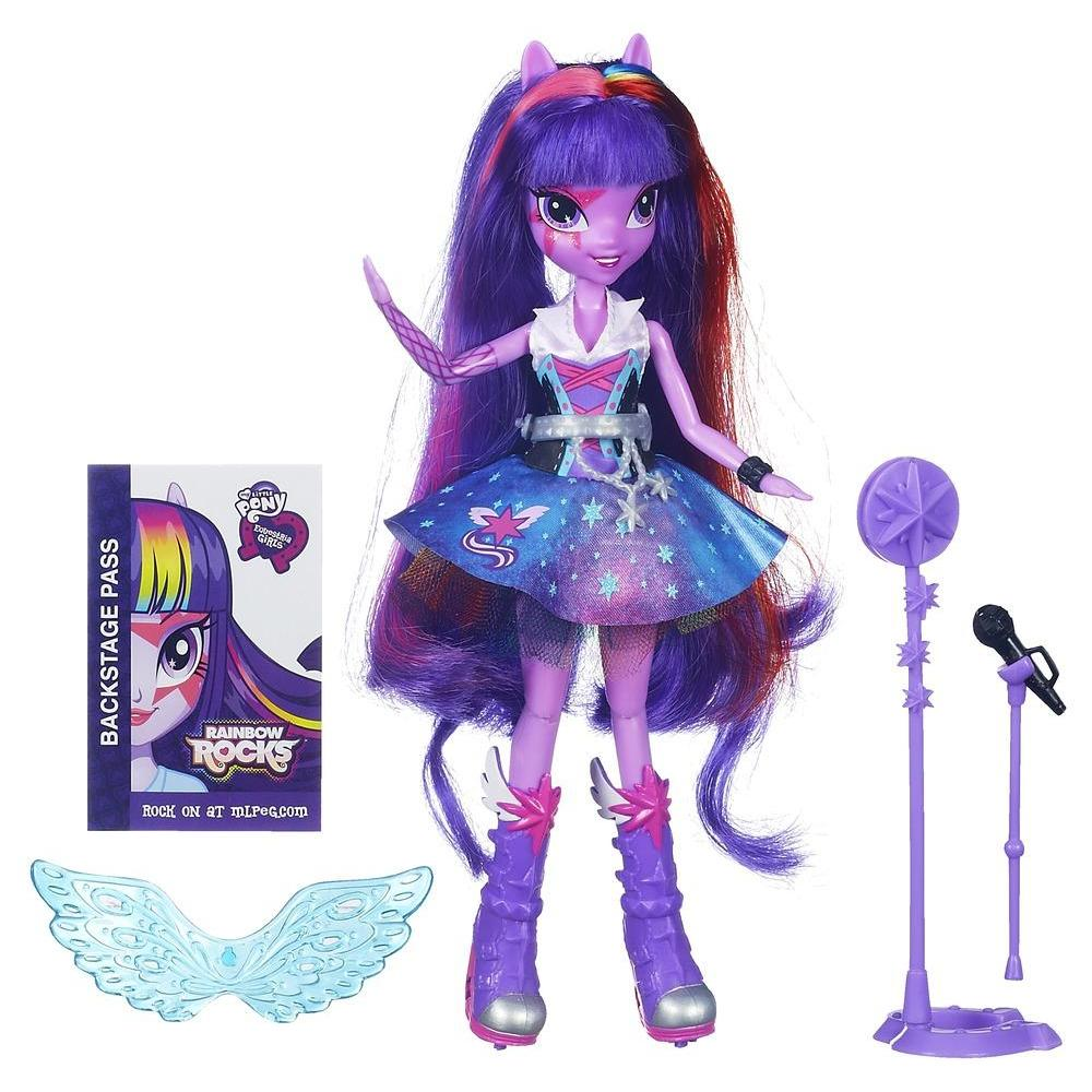 Equestria Girls Twilight Sparkle Bambola Rock