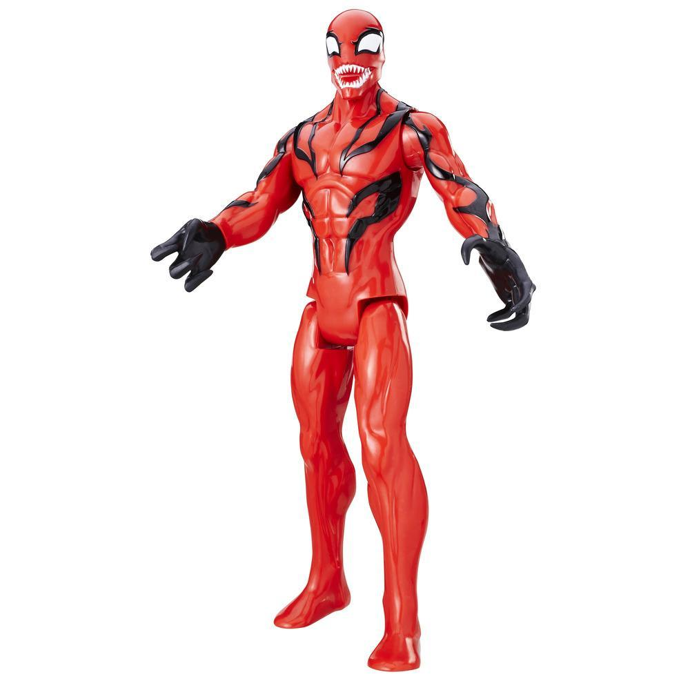 Marvel Spider-Man Titan Hero Series Villains Carnage Figure