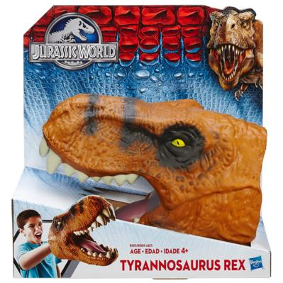 Jurassic World Chomping Velociraptor Head Hand Puppet