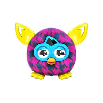 FURBY FURBLING (PURPLE HOUNDSTOOTH)