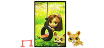 BLYTHE LOVES LITTLEST PET SHOP Postcard Pets Assortment