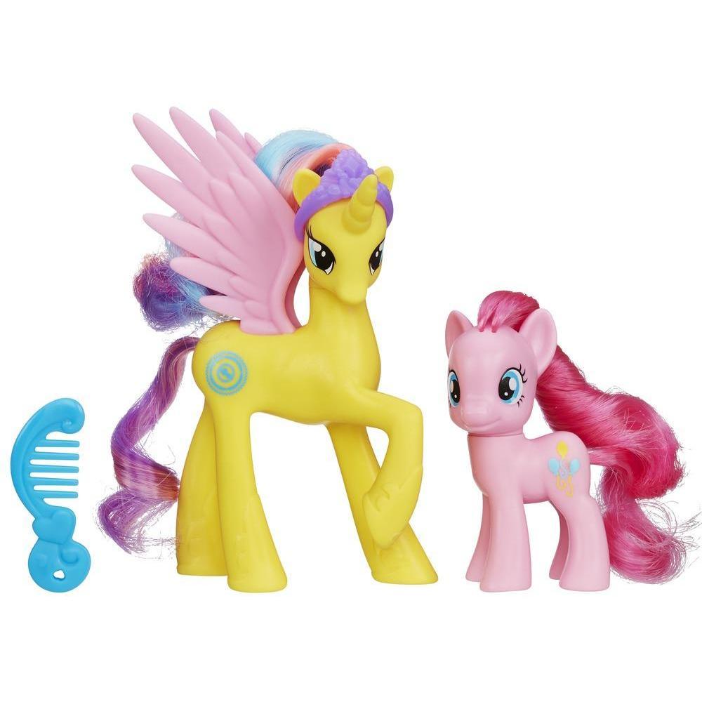 My Little Pony Princess Pack Principessa Gold Lily e Pinkie Pie