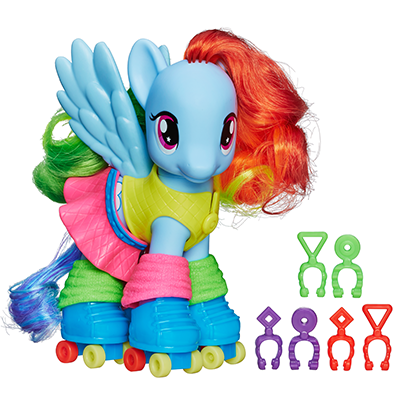 Rainbow Dash Fashion Pony