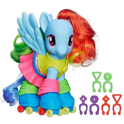 Rainbow Dash Fashion Pony