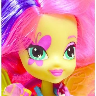 Equestria Girls Bambola Fluttershy con pony