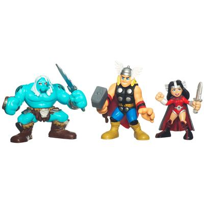 Marvel Super Hero Squad 3-pack - Battle in the Frozen Land