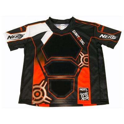 NERF DART TAG Official Competition Jersey (Small Orange)