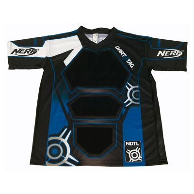 NERF DART TAG Official Competition Jersey (Large Blue)