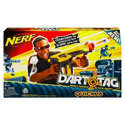 NERF DART TAG QUICK 16 Blaster