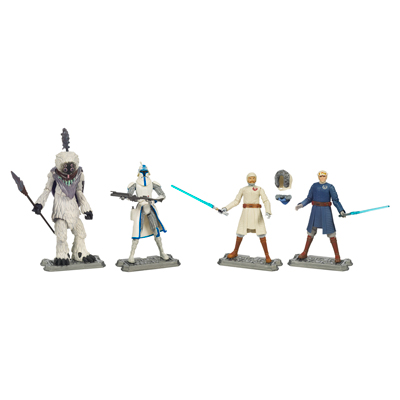 Star Wars The Clone Wars Battle Packs: Battle of Orto Plutonia