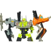 TRANSFORMERS POWER CORE COMBINERS STEAMHAMMER with CONSTRUCTICONS