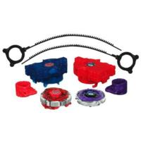 Beyblade Metal Fusion Red Horn Uppercut 2-Pack