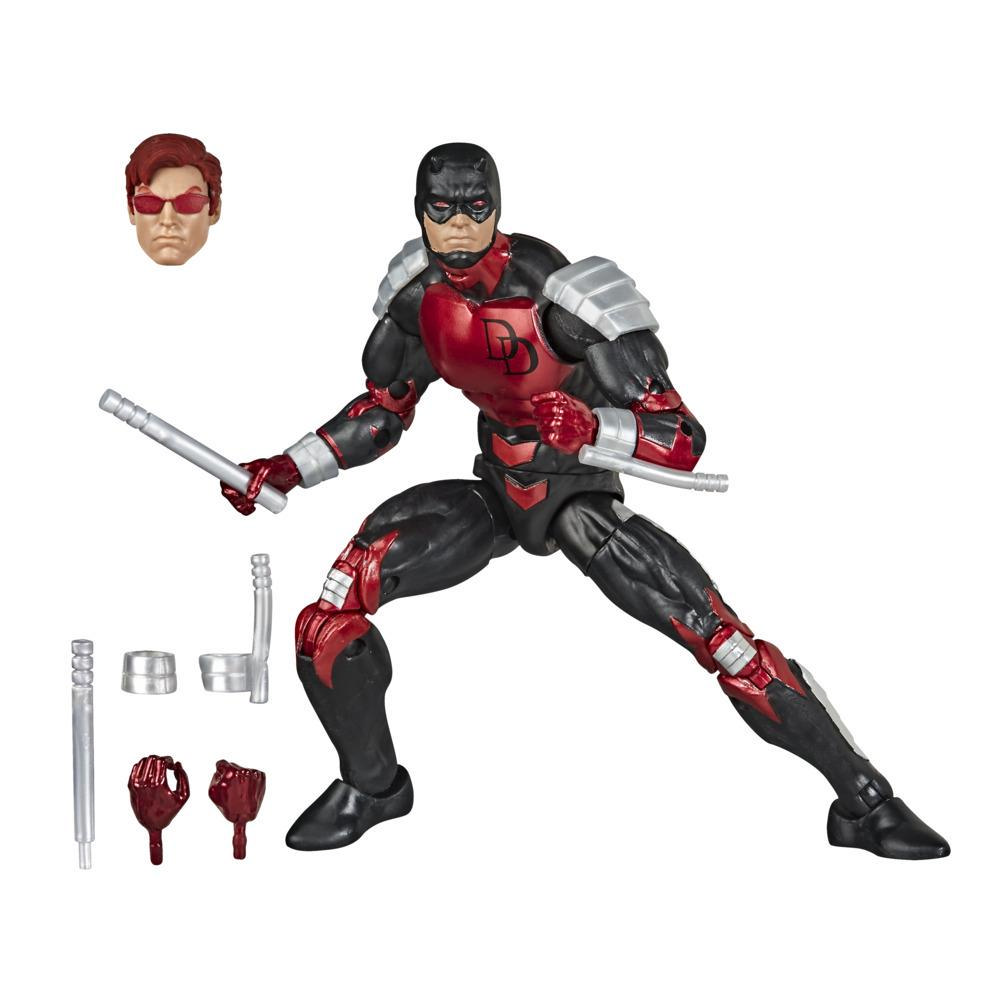 Hasbro Marvel Legends Series Spider-Man Daredevil-actiefiguur van 15 cm om te verzamelen, Vintage Collection