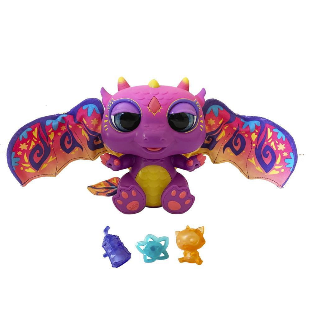 furReal Moodwings-babydraakje interactief pluchen speelgoeddiertje