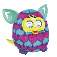 Nieuwe Furby Boom (roze en blauwe hartjes)