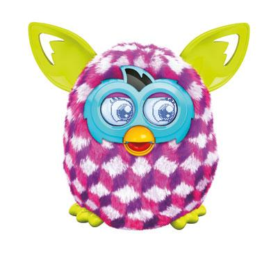 Nieuwe Furby Boom (roze blokken)