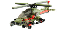 KRE-O Battleship Helicopter combat chopper 174 pcs