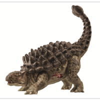 Jurassic World Bashers & Biters Ankylosaurus figuur