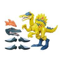 Jurassic World Hero Mashers Hybrid Dino Spinosaurus figuur