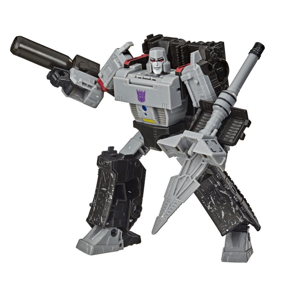 Transformers Generations War for Cybertron: Earthrise Voyager WFC-E38 Megatron-figuur van 17,5 cm