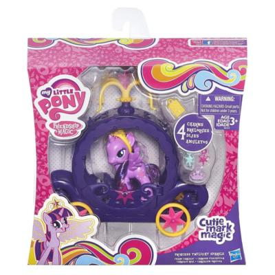 My Little Pony Twilight Sparkle's Kroonvoertuig