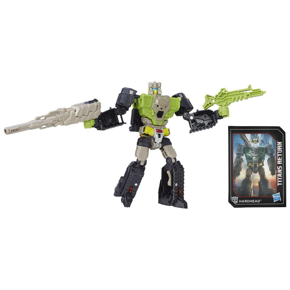 Transformers Generations Titans Return Titan Master Furos and Hardhead