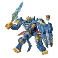 Transformers Bumblebee Cyberverse Adventures Deluxe Class Thunderhowl-actiefiguur van 12,5 cm met bouwstuk voor extra figuur
