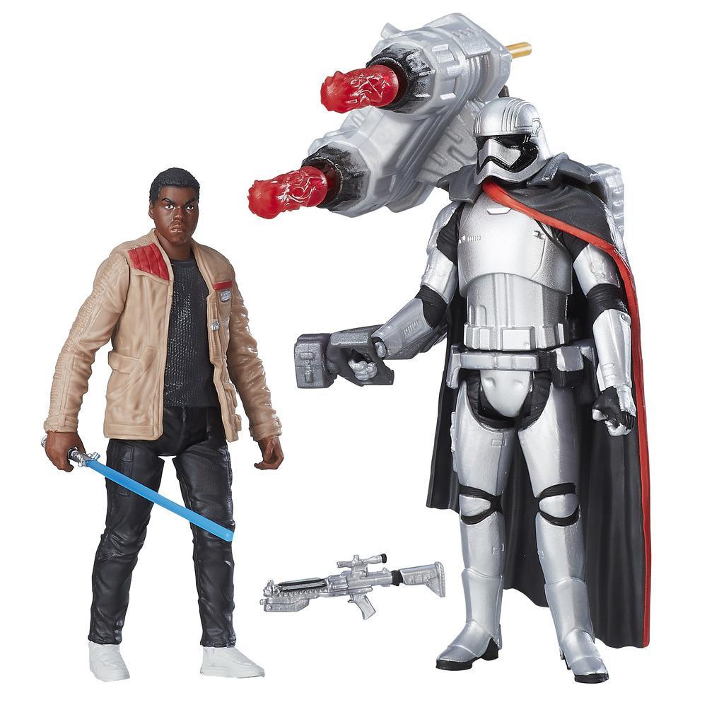 Star Wars: The Force Awakens Finn (Jakku) vs. Captain Phasma