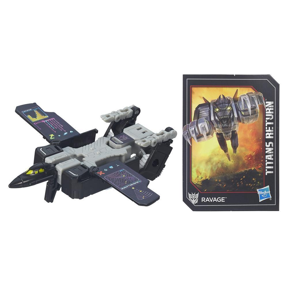 Transformers Generations Titans Return Legends Class Decepticon Ravage