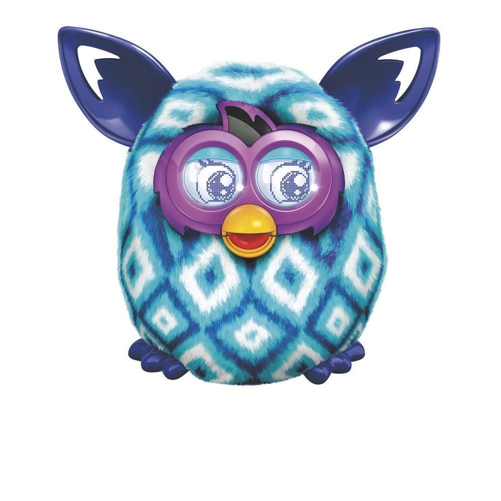 Furby Boom (blauwe ruiten)