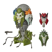 Transformers Generations War for Cybertron: Earthrise Voyager WFC-E22 Quintesson-rechter figuur van 14 cm