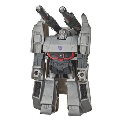 Transformers Bumblebee Cyberverse Adventures Action Attackers: in 1 stap omvormbare Megatron-figuur van 10,5 cm met aanvalsbeweging Product