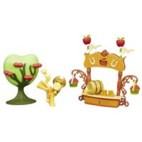 My Little Pony Friendship is Magic Scene Pack Sweet Apple Juice Stand Set