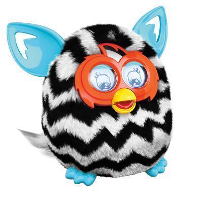 Nieuwe Furby Boom (zigzag strepen)