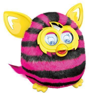 Nieuwe Furby Boom (rechte strepen)