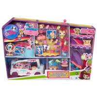 Littlest Pet Shop Supertalenten stars & limo speelset