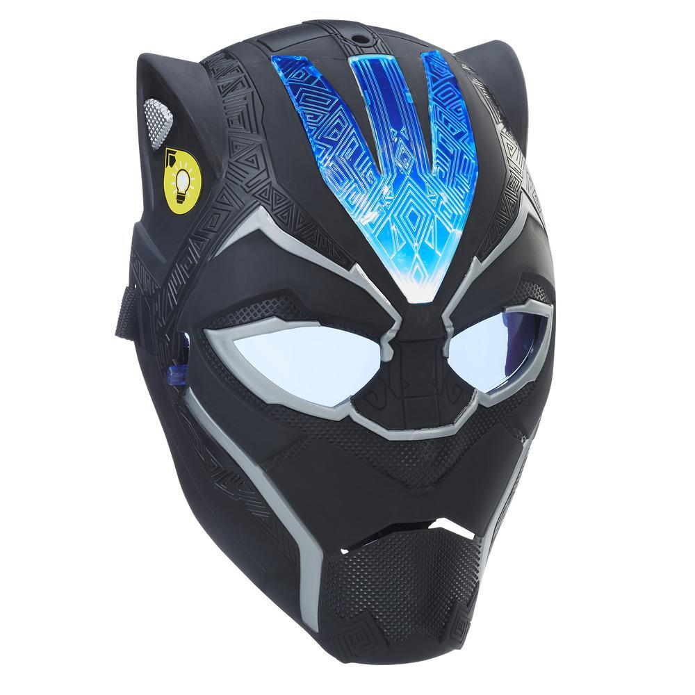 Marvel Black Panther Vibranium Power FX Mask