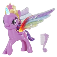 My Little Pony Rainbow Wings Twilight Sparkle -- Pony Figure with Lights and Moving Wings