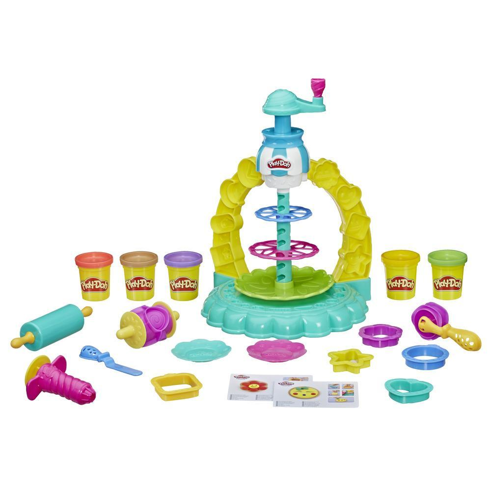 Play-Doh Kitchen Creations Sprinkle Cookie Surprise Play Food Set with 5 Non-Toxic Play-Doh Colours