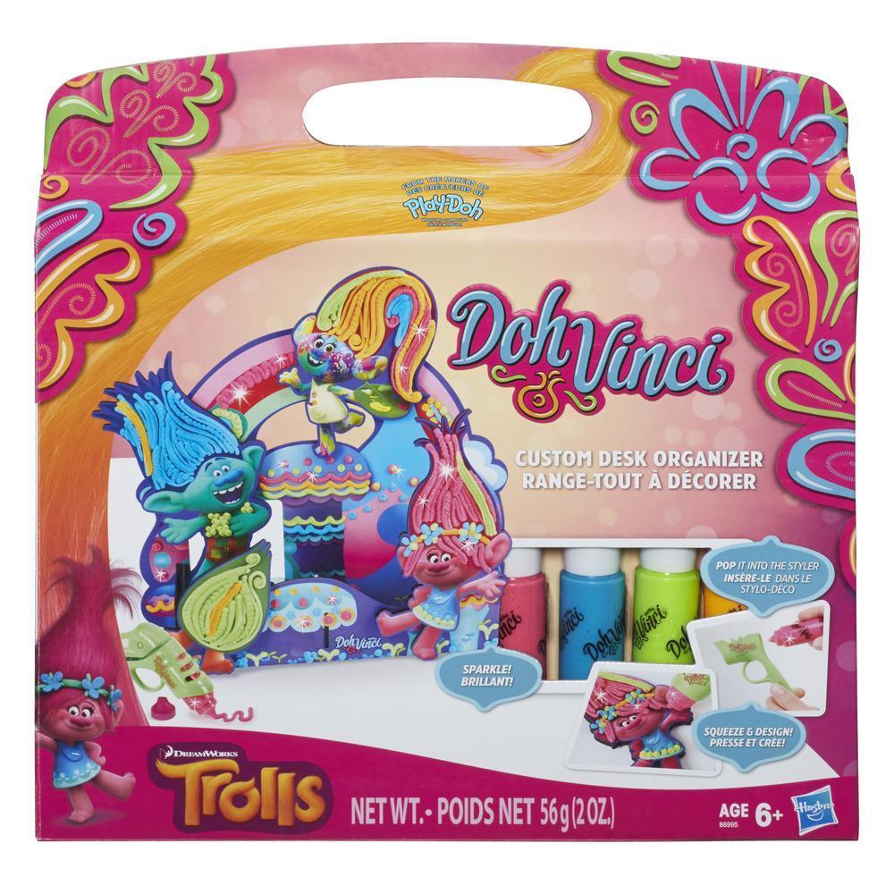 DohVinci Trolls Custom Desk Organizer Kit