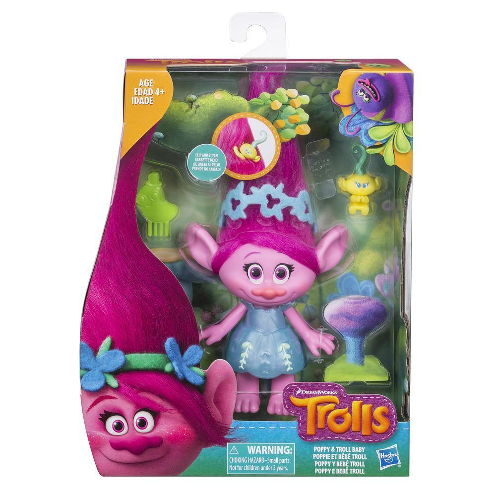 DreamWorks Trolls Poppy and Troll Baby