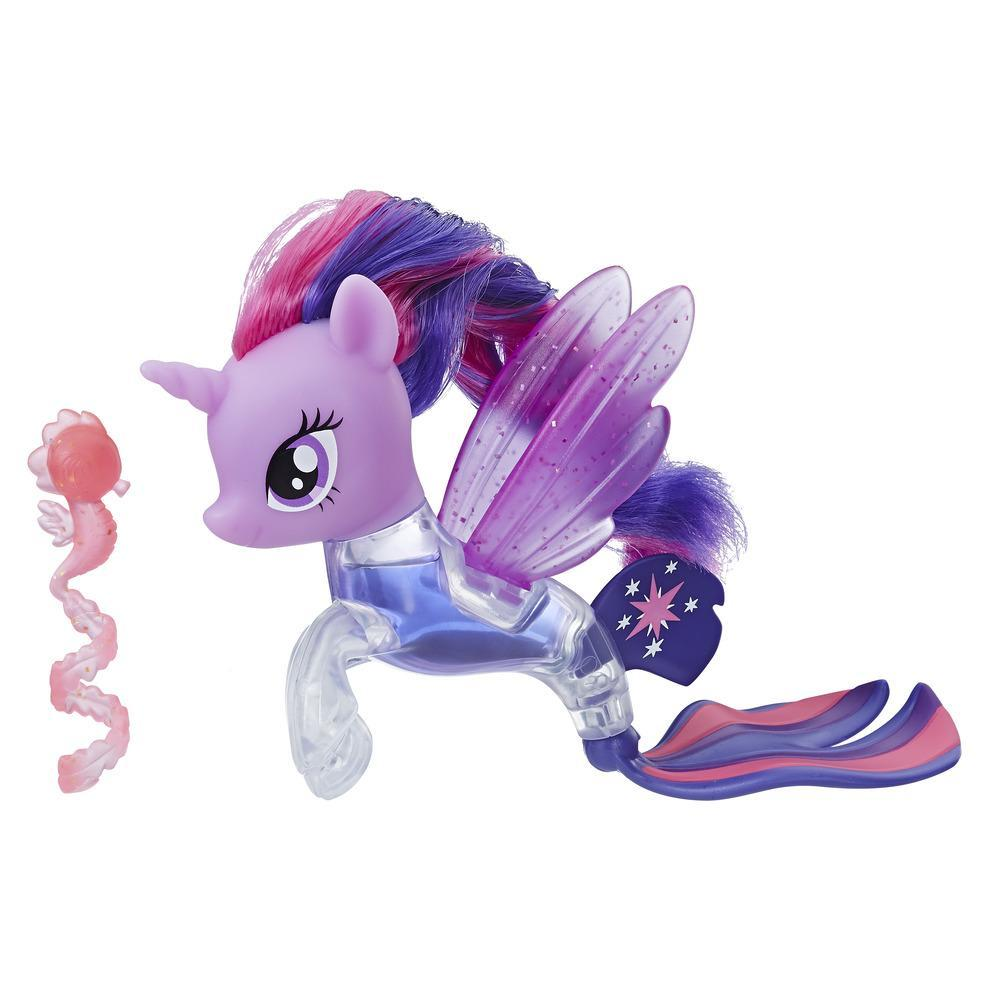 My Little Pony the Movie Twilight Sparkle Flip & Flow Seapony Figure